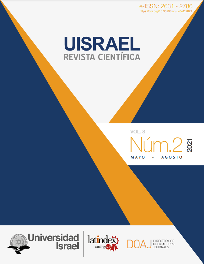 Revista Científica UISRAEL Vol. 8 Núm. 2