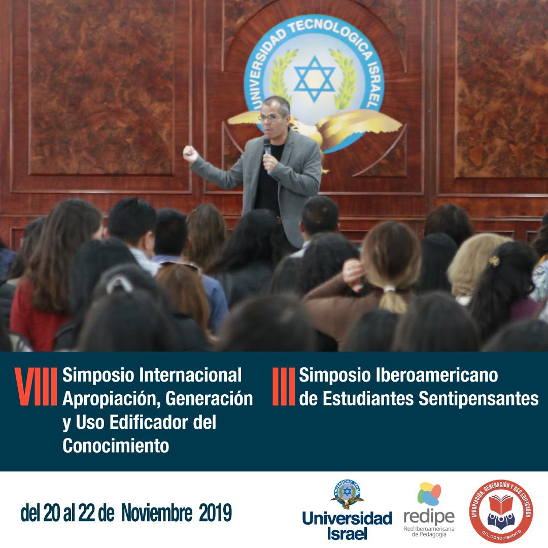 VIII Simposio Internacional Apropiación, Generación y Uso Edificador del Conocimiento